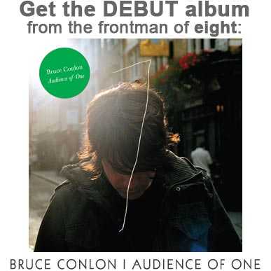 The debut album 'Audience Of One' - from Bruce Conlon